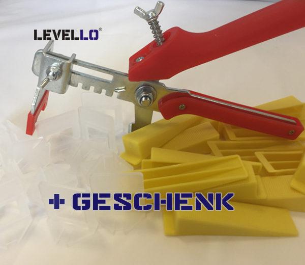 Starterset Nivellieren Sie Fliesenstärke von 3 bis 12mm und Fugenbreiten von 1-3mm