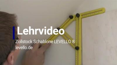 Zollstock Schablone LEVELLO®